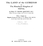 The Land of Gurkhas