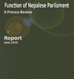 Legislation Drafting and Oversight Function of Nepalese Parliament A Process Review
