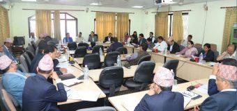 राज्य व्यवस्था तथा सुशासन समितिको निर्वाचन आयोगको वार्षिक प्रतिवेदन अध्ययन उपसमितिमा दिएको टिप्पणी